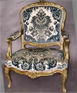 Poltrona in stile Rococò