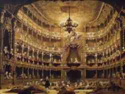 Rococò Cuvilliés Theater Monaco di Baviera