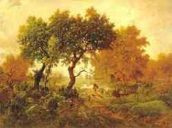 Scuola di Barbizon - Theodore Rousseau