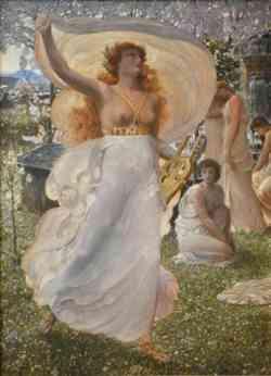 Simbolismo - Adolfo de Carolis - Le Castalidi
