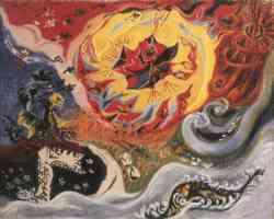 Surrealismo - Le Météore 1939 - Masson