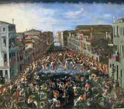 Vedutismo Veneziano -Joseph Heintz il Giovane 1673
