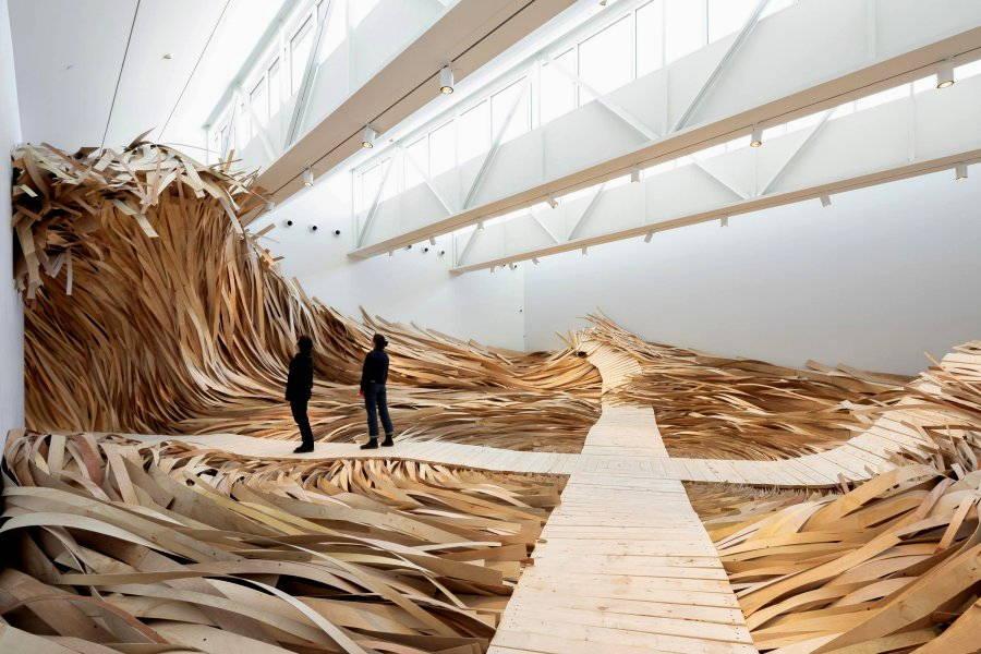installazione artistica di nguyen and kavanaugh