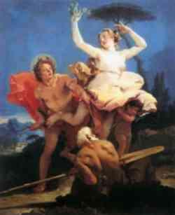 Apollo e Dafne - Quadro del Tiziano