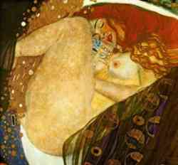 Quadro di Klimt - Dafne