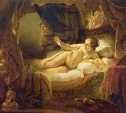 Dafne - dipinto di Rembrandt