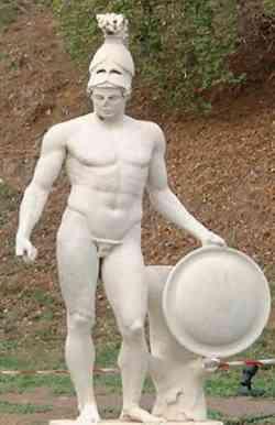 Ares - Statua di Villa Adriana - Roma