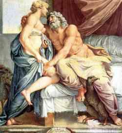 Annibale Carracci -  Giove e Giunone