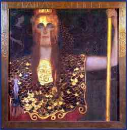 Storia del Giudizio di Paride Pallade Atena di Klimt