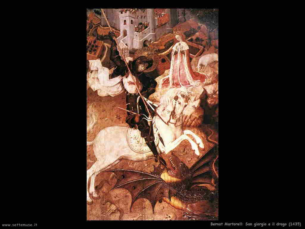 bernat_martorell san_giorgio_uccide_il_drago 1435