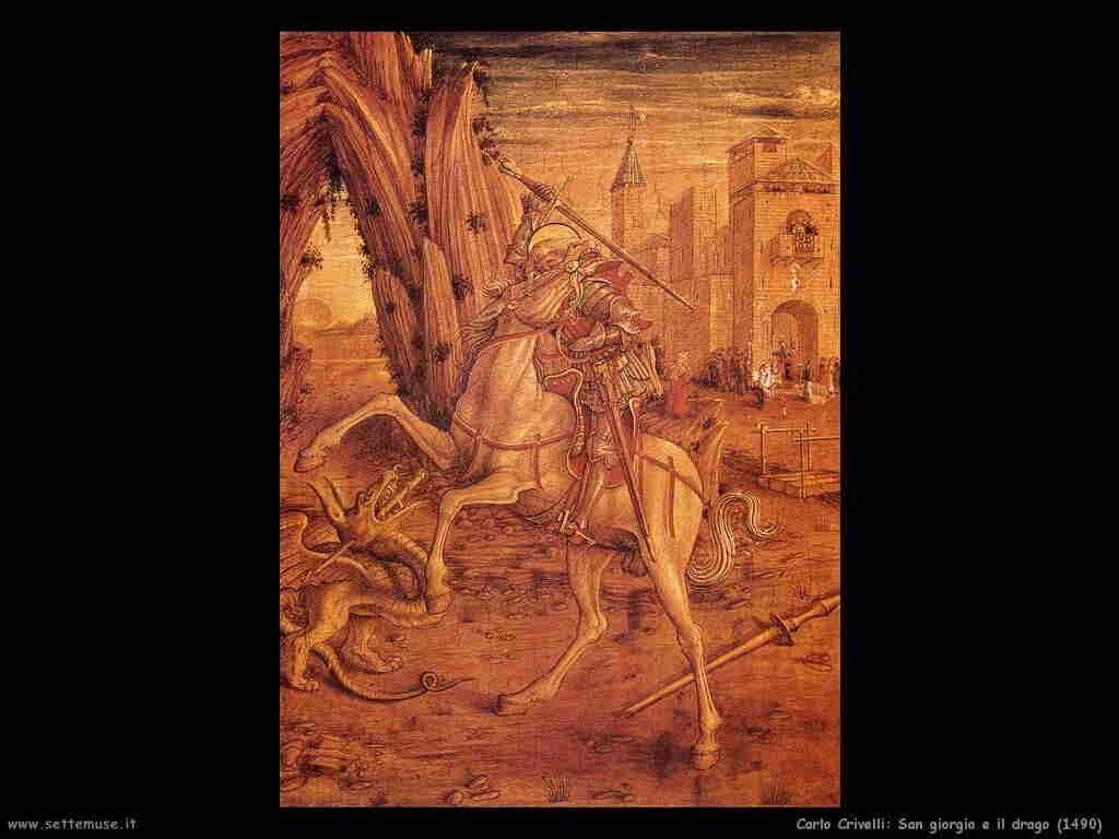 carlo_crivelli san_giorgio_e_il_drago 1490