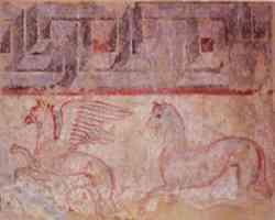 Draghi nell'arte Etrusca