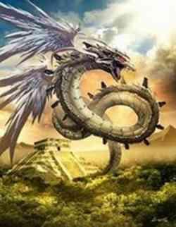 Drago Anfittero - Serpente Piumato