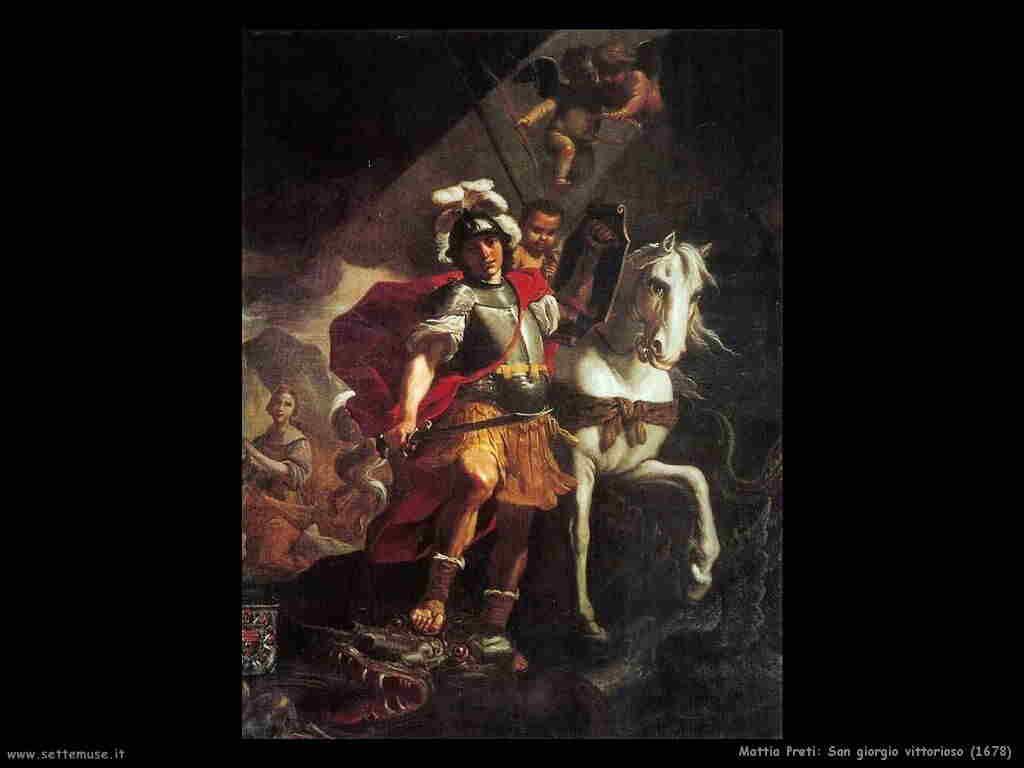 mattia_preti san_giorgio_vittorioso 1678