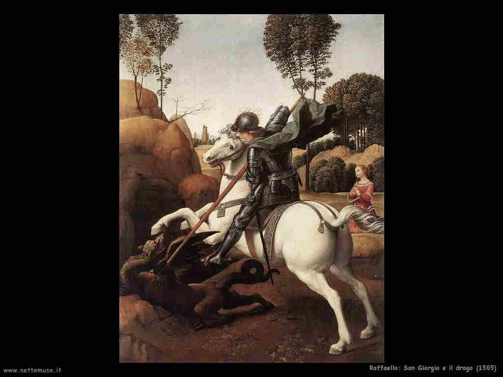raffaello san_giorgio_e_il_drago 1505