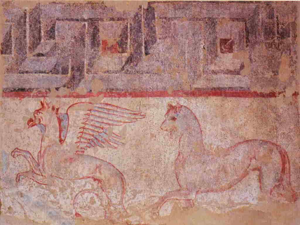 I Draghi nell'arte Drago etrusco