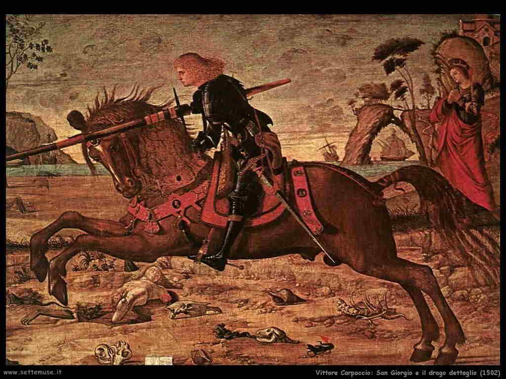 vittore_carpaccio san_giorgio_dettaglio 1502