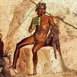 Pan  affresco Pompei