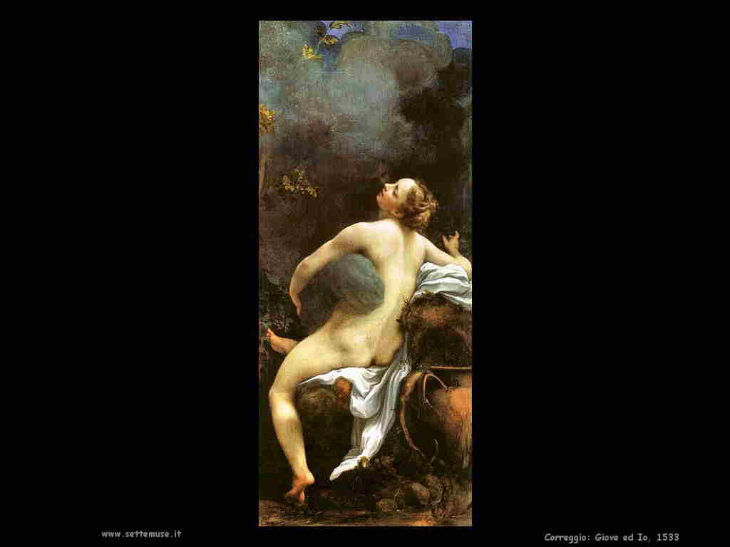 Correggio:Giove ed Io - 1533