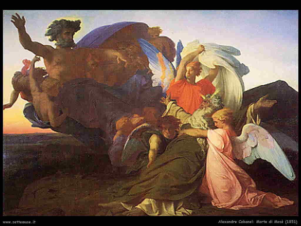 alexandre_cabanel morte_di_mose 1851