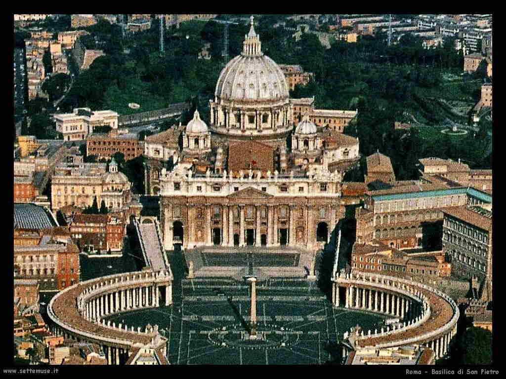 Panoramica San Pietro - Roma