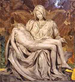 Basilica di San Pietro  - La Pietà di Michelangelo