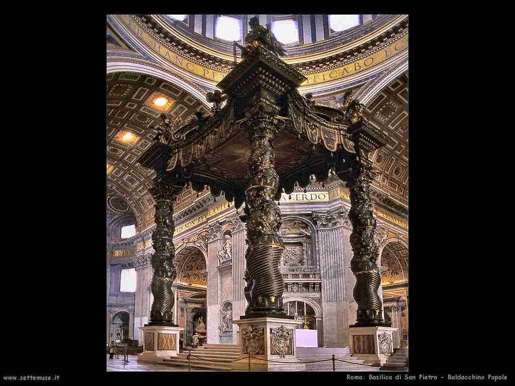 Basilica di San Pietro - Baldacchino Papale