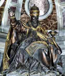 Basilica di San Pietro  - Monumento ad Urbano VIII