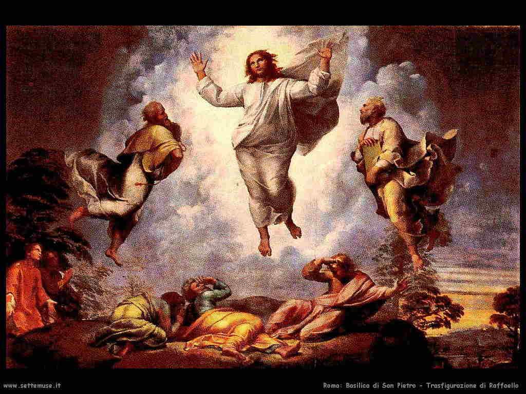 Basilica di San Pietro - Trasfigurazione di Raffaello