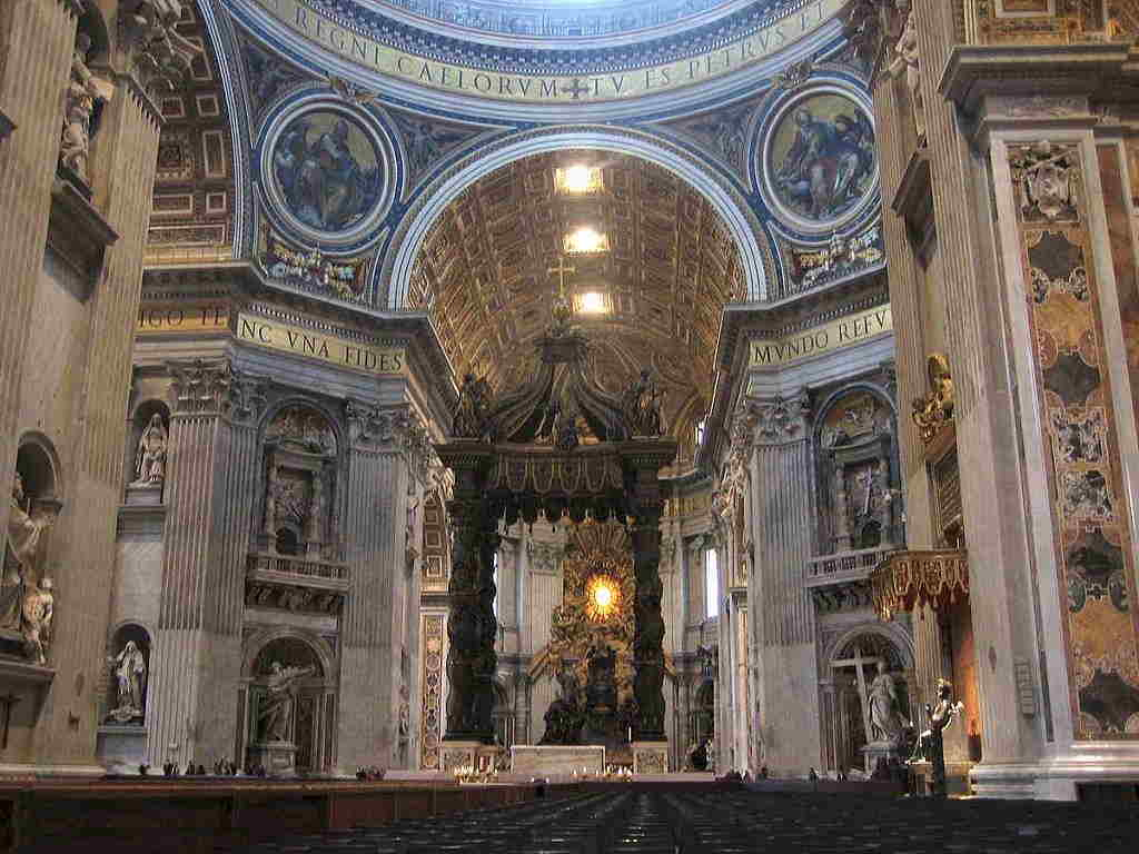 Basilica di San Pietro Navata centrale