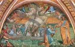 Basilica di San Pietro  - La Navicella di Giotto