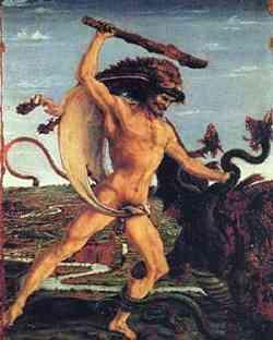 Galleria degli Uffizi - Ercole e l'Idra - Pollaiolo