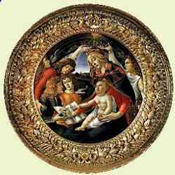 Galleria degli Uffizi - Madonna del Magnificat di Sandro Botticelli