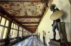 Galleria degli Uffizi, ingresso