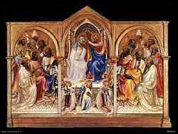 Galleria degli Uffizi - Incoronazione della Vergine - Lorenzo Monaco