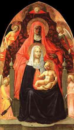 Galleria degli Uffizi - Sant'Anna Metterza di Masaccio