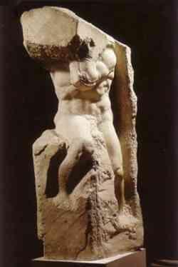 Galleria Accademia Firenze Prigione di Michelangelo