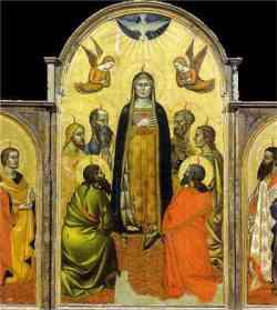 Galleria Accademia Firenze Trittico degli Orcagna