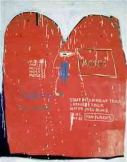 Museo Guggenheim Bilbao - Basquiat Mosè e gli Egiziani 1982
