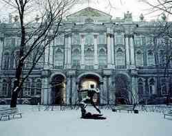 Museo del Hermitage - esterno invernale