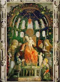 Louvre - Mantegna, Madonna della Vittoria