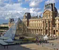 Parigi - Esterno del Louvre