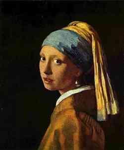 Louvre -  Jan Vermeer Ragazza dall'orecchino