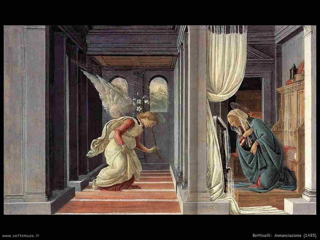 Botticelli Annunciazione (1485)