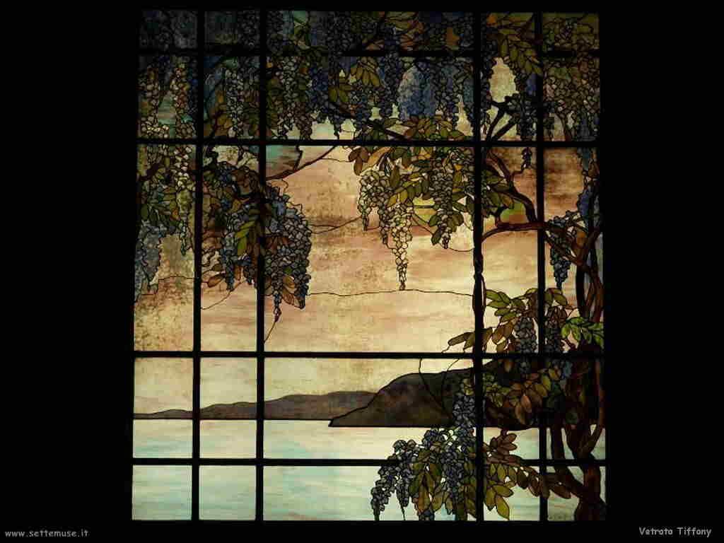 Metropolitan Museum vetrata Tiffany
