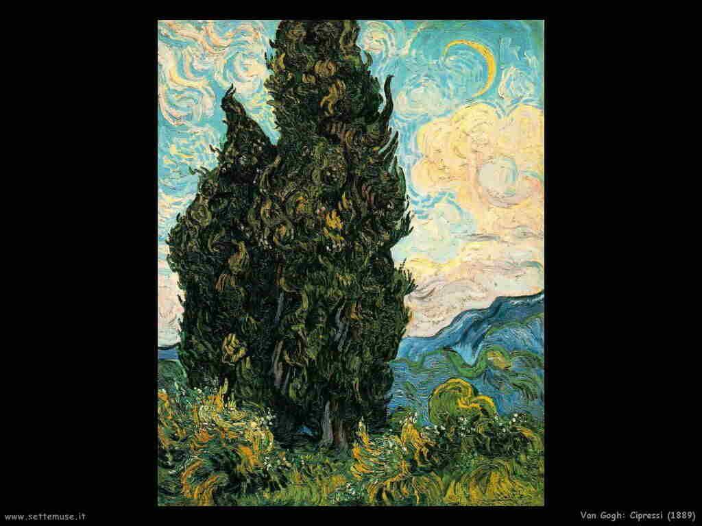 Van Gogh Cipressi (1889)