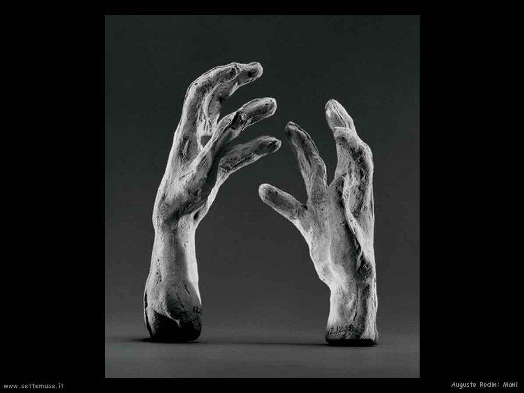 Auguste Rodin Mani