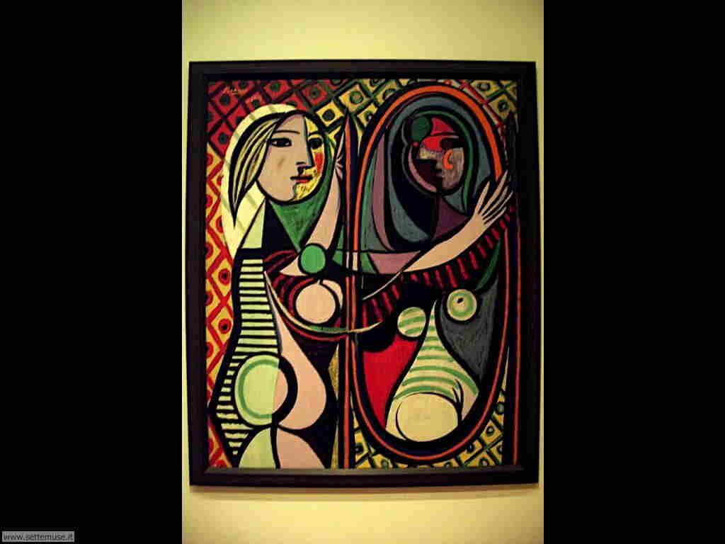 Moma museum of modern art new york opere d 39 arte - Ragazza davanti allo specchio ...