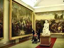 Palazzo Pitti - Una sala della Galleria Arte Moderna