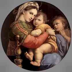 Raffaello - Madonna seggiola